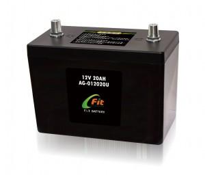 12V 磷酸鋰鐵汽車啟動電池20AH