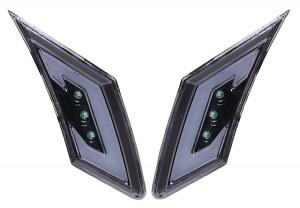 12-16 TY GT86 LED DRL Side Marker Lamps (Black)(E)