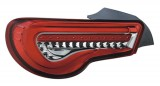 12-16 TY GT86 ZN6 LED Light Bar Tail Lights Lamp (Red-Clear)