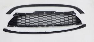 MINI R55 R56 R57 R58 S JCW 2006-2014 GRILLE (MIST BLACK) (3PCS)