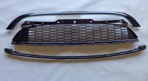 MINI R55 R56 R57 R58 S JCW 2006-2014 GRILLE (BLACK) (3PCS)