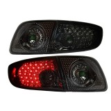 03-06 Mazda3 4D LED Tail Lights Lamp (Smoke)