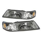95-98 NS Sentra Headlights Lamps (USA Type)