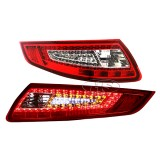 05-09 PS 997 911Carrera LED Tail Lights Lamp (Red-Crystal)