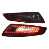 05-09 PS 997 911Carrera LED Tail Lights Lamp (Red-Smoke)