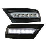 09-11 TY Camry LED DRL Daytime Running Lights Lamps (Black)