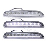 05-08 PS Boxter 987 LED DRL Bumper Driving Light Lamps (Clear)