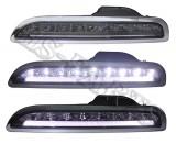 05-08 PS Boxter 987 LED DRL Bumper Driving Light Lamps (Smoke)