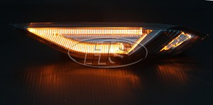11-14 PS Cayenne LED Side Marker Lights Lamp (Amber Light)