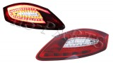 05-08 PS 987 Boxter Cayman LED Tail Lights Lamp (Red-Clear)