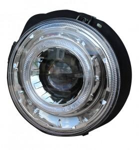 BENZ '99-'05 G500 G550 G55 AMG LED Head Lamp Lights w/DRL