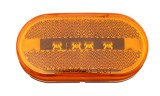 12V / 24V LED Oval side repeater lights lamps for truck universal